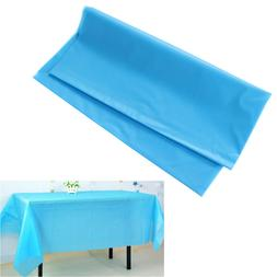 1 Pc Tablecloths Rectangle Disposable Table Cover for Banque