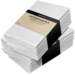 12 pcs 18 cotton Napkins Wedding Dinner Table Top Supply Dec