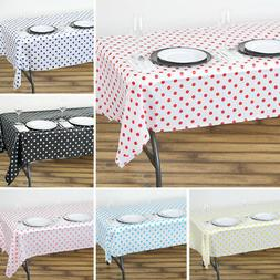 2 pcs rectangle 54x108 polka dots disposable