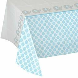 "Creative Converting 316939 Table Cover, 54"" x 102"", Blue"