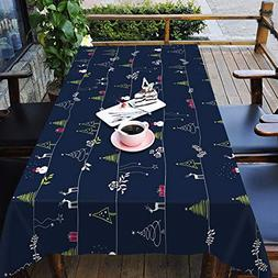 3D Christmas Xmas Illustration 68 Tablecloth Table Cover Clo