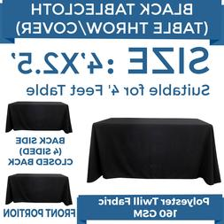 4ft. Full Color Blank Table Cover/Throws 4 Sided Tablecloth