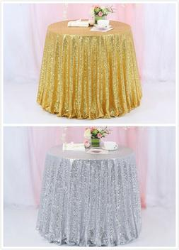 50 sequin tablecloth round sequin table cover