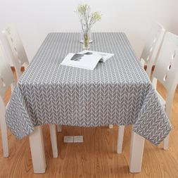 6 Sizes <font><b>Table</b></font> Cloth Country Style Plaid