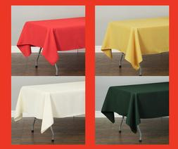 LinenTablecloth 60 x 102 in Rectangular Polyester Tablecloth