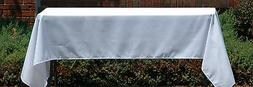 """60"""" x 102"""" RECTANGLE POLYESTER TABLECLOTH - MADE IN USA - MA"""
