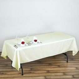 60x102 polyester rectangle tablecloths for wedding party