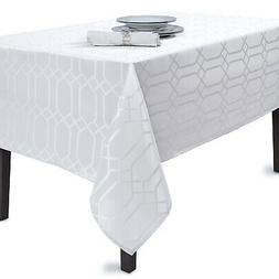 - Benson Mills Chagall Tablecloth, 60X140, White. Free Ship