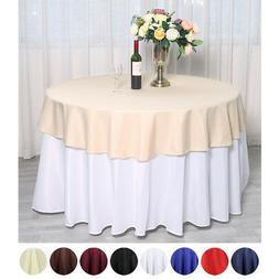 "70"" Round Polyester Tablecloths for Wedding - BUY Catering T"