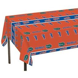724698 collegiate plastic table cover