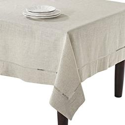 SARO LIFESTYLE 731 Toscana Tablecloths, 65 by 140-Inch, Oblo