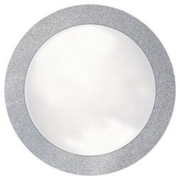 Creative Converting 861800 Glitz Silver 14 inch Round Placem