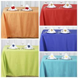 "90x156"" Polyester Tablecloth Wedding Table Linens Catering D"