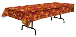 Beistle Fall Leaf Tablecover