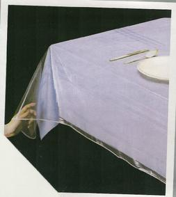 Elaine Karen DELUXE COLLECTION Clear Heavy Duty Tablecloth P