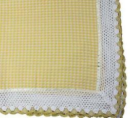 French Country New Table Cloth Yellow Waffle Tablecloth Squa