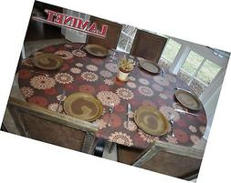 LAMINET Elastic Fitted Table Cover - MEDALLION - Oblong/Oval