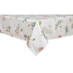 Lenox Butterfly Meadow 52-inch by 52-inch Square Tablecloth