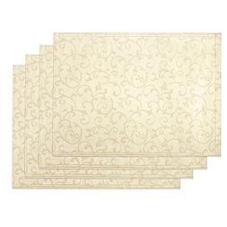 Lenox Opal Innocence Set of 4 Placemats, Ivory