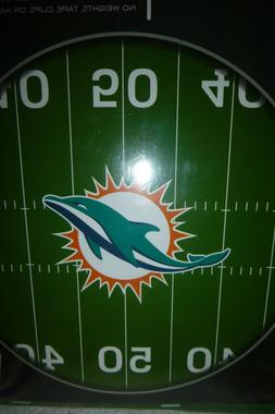 NEW NFL Dolphins Football Tablecloth Tailgate with Elastic S