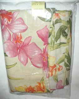Tommy Bahama African Orchid 60 by 120, Oblong, Linen