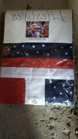 all american colonial americana kitchen tablecloth dining60