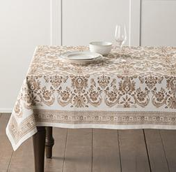 Maison d' Hermine Allure 100% Cotton Tablecloth 54 Inch by 7