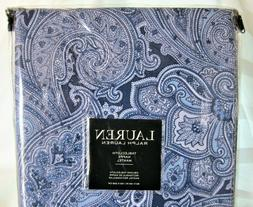 Ralph Lauren Almada Paisley Indigo Blue Tablecloth Outdoor E