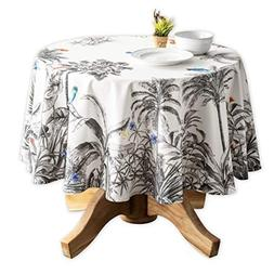 Maison d' Hermine Amazonia 100% Cotton Tablecloth 69 Inch Ro