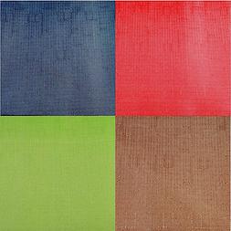 """Assorted Colors Solid Pattern Fabric Tablecloths 60"""" x 90"""""""