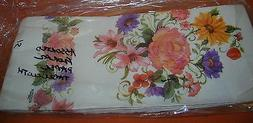Novelty Inc Assorted Floral Paper Disposable Tablecloth  Set