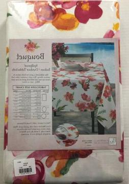 Benson Mills Bouquet Spillproof Indoor Outdoor Tablecloth 60