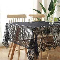 Bringsine Ultra-Thin and Lightweight Rustic Lace Tablecloth,