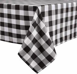 Buffalo Plaid Tablecloth Rectangle Stain Resistant, Spillpro