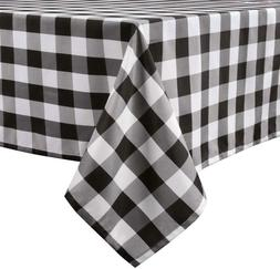 LEEVAN Buffalo Plaid Tablecloth Rectangle Stain Resistant, S