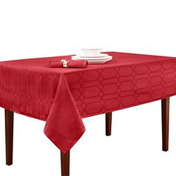 Benson Mills Chagall Spillproof Tablecloth,Scarlet,60 X 140