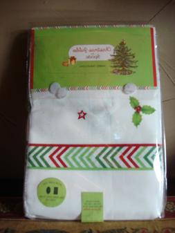"""SPODE CHRISTMAS TREE JUBILEE FABRIC TABLECLOTH 60 x 144"""" OBL"""