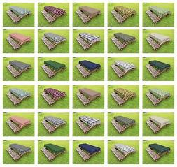 Classic Plaid Outdoor Picnic Tablecloth in 3 Sizes Washable