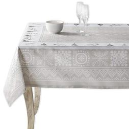 Maison d' Hermine Cozy Christmas 100% Cotton Tablecloth 54 I