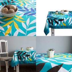 Shalinindia Colorful Cotton Spring Floral Tablecloths For Di