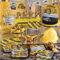 Construction Birthday Zone Party Supplies