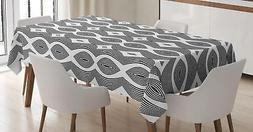 contemporary tablecloth 3 sizes rectangular table cover