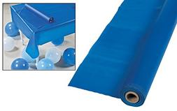 Cool Fun 70-2282 Blue Tablecloth Roll 40 inch x 100 ft.