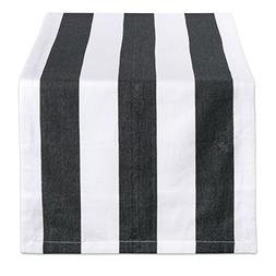 DII 100% Cotton, Machine Washable, Classic Table Runner For