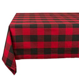 DII Cotton Buffalo Check Plaid Square Tablecloth for Family