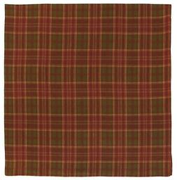 Traders and Company Cotton Plaid Tablecloth