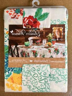 "Pioneer Woman Country Garden Tablecloth 60""x 84"""