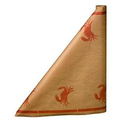 300 foot Crab Paper Table Cover