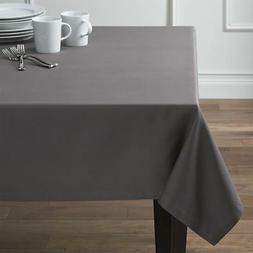 """Crate & and Barrel FETE PEWTER GREY TABLECLOTH- 60"""" x 90"""" -N"""