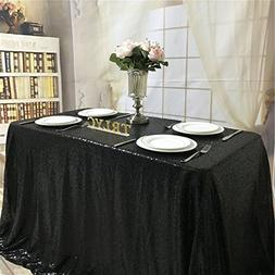 """TRLYC Cute 50"""" 50"""" Black Luxe Holiday Party Wedding Decor Gl"""